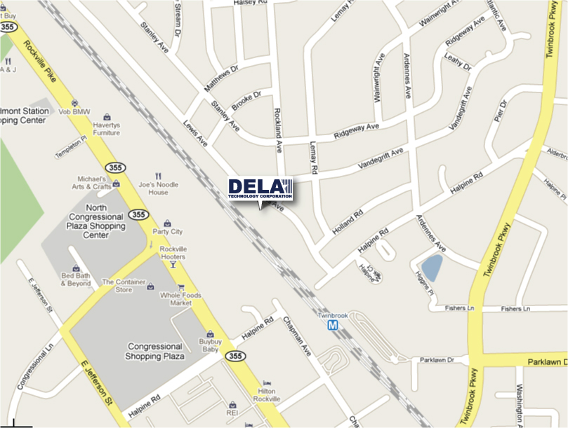 Dela Technology Corporation Map
