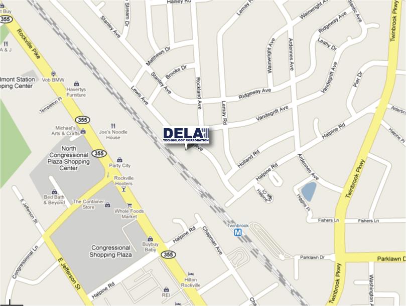 Dela Technology Corporation Map